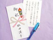 Pペン字筆ペン012