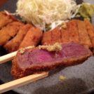 吉祥寺にオープン「京都勝牛」の絶品牛カツは5種類の味の変化で楽しむ