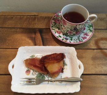 フライパンで♥簡単りんごタルトタタンの作り方