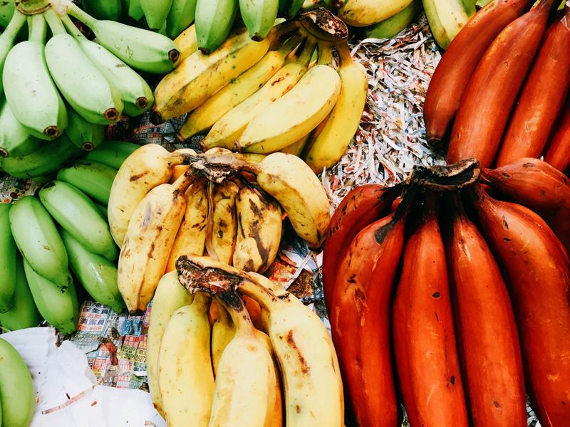 色々なバナナ