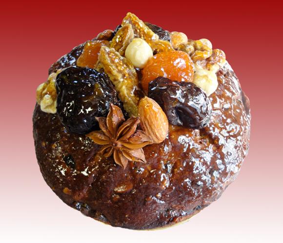 ドライフルーツと木の実のcake