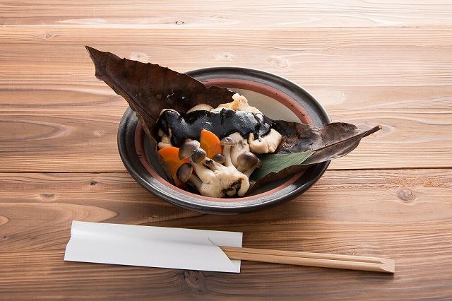 s-門前茶屋 成る口「黒さつま鶏純米粕漬け 黒ほう葉味噌焼き」