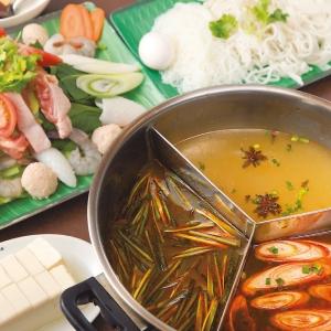 「マレー鍋 3色のスープ」