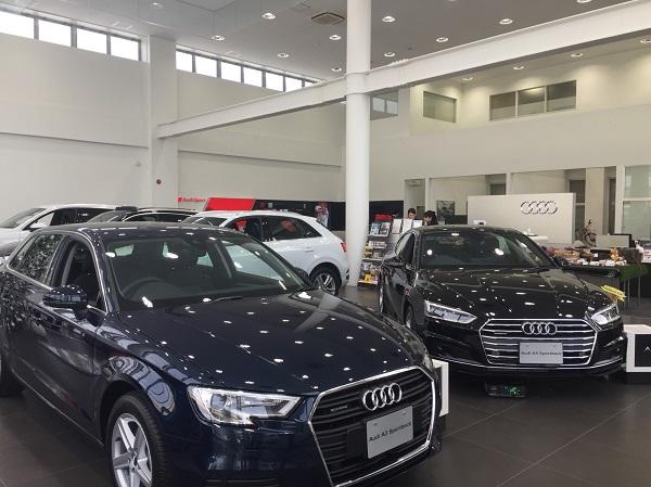 憧れの輸入車ディーラーAudi札幌東