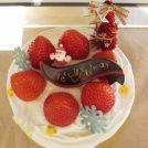 クリスマスケーキを買いに、しふぉんけーきのお店「きりむきり」へ@日進