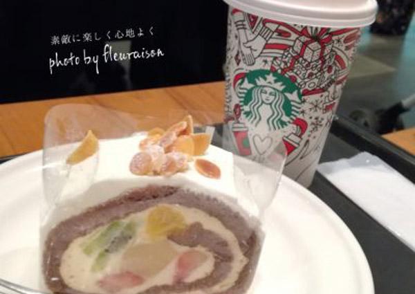 【スタバ】12月25日まで♡3店舗限定スイーツ「クリスマスノエル」