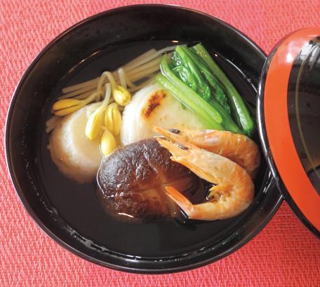 【魚苦手さん応援レシピ 】焼きえびを使った、鹿児島のお雑煮!