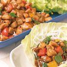 【動画付レシピ】レンコンと鶏肉のレタス包み