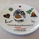 【日野】ウチのコ写真でオリジナルのお皿作り♪「サロンドアラベスク」