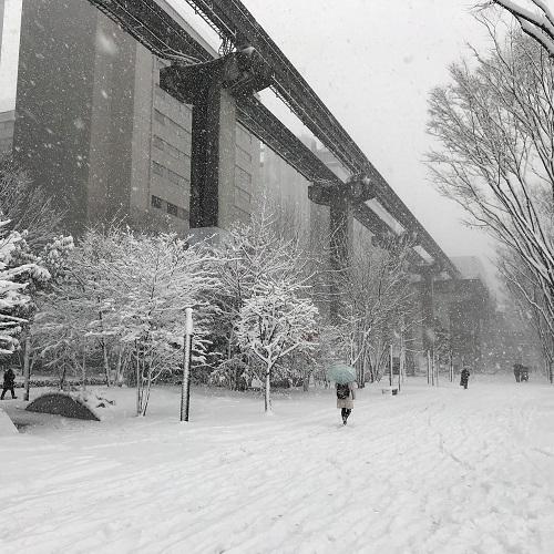 雪景色20180122立川 (7)