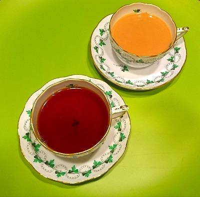 チョコレートと紅茶のマリアージュ