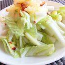 『白菜とりんごのサラダ〜すりりんごドレッシング〜』カンタン時短レシピでおかずを1品プラス