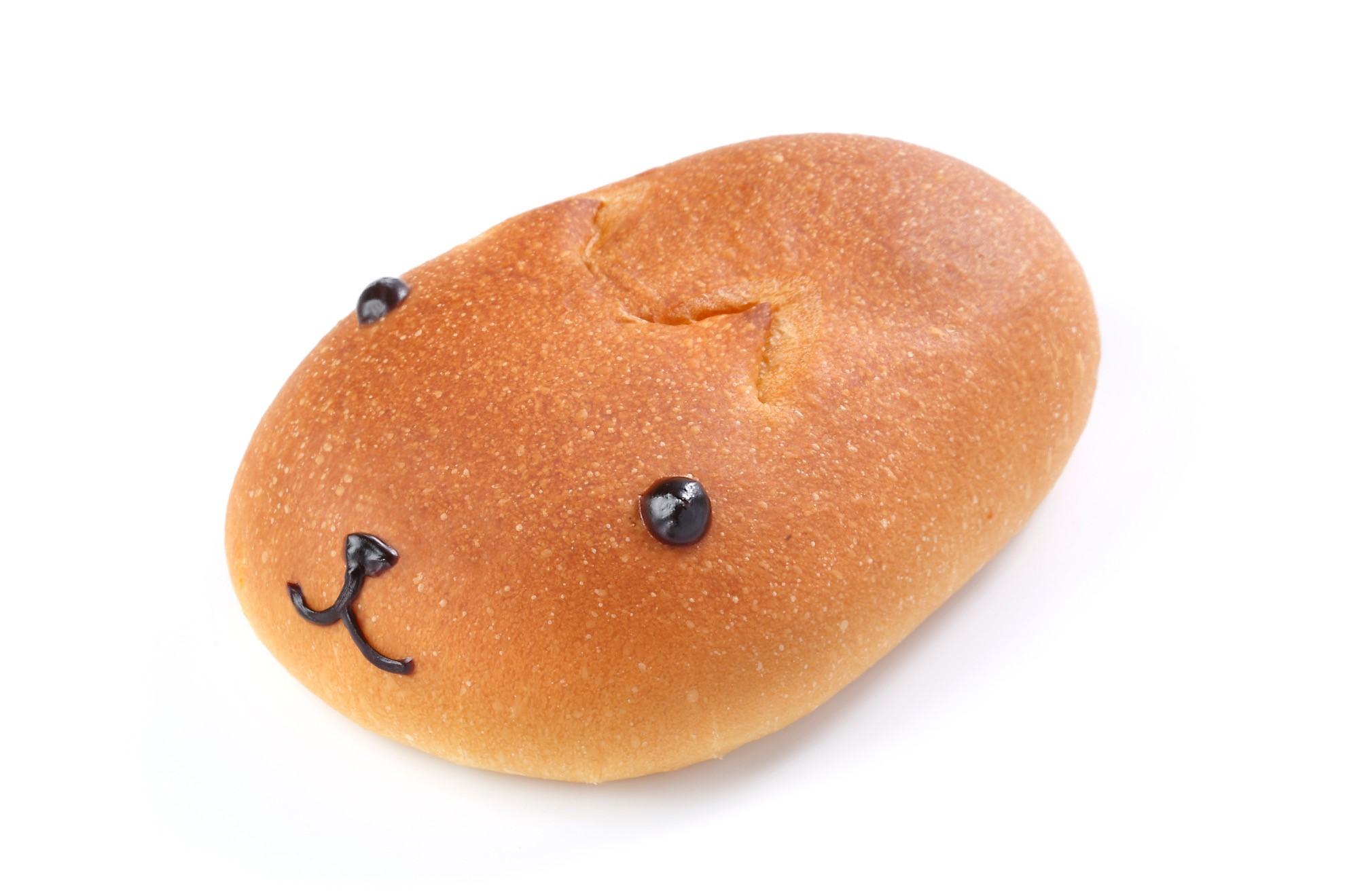 カピバラさんパン