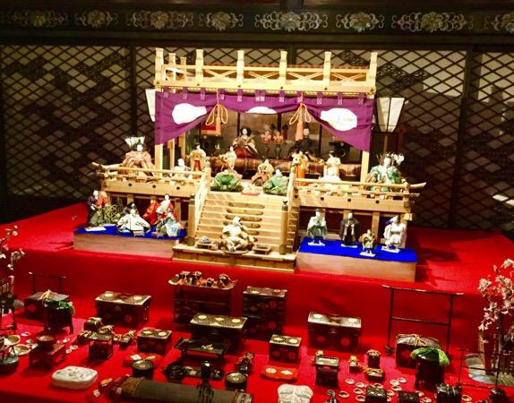 ホテル雅叙園東京の百段雛かざり♡