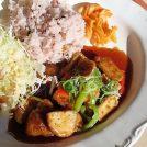 古代米と地場野菜のあんかけランチ@府中