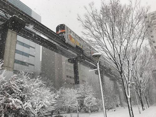 雪景色20180122立川 (6)