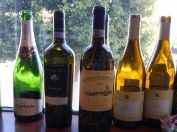 幕張本郷駅前の「Osteria Labaia Italiano」。ワインがいろいろ、レアものも