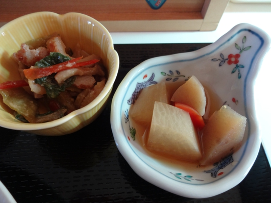 2品の小鉢