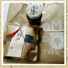 AKOMEYA TOKYO 鯛めし&梅昆布茶