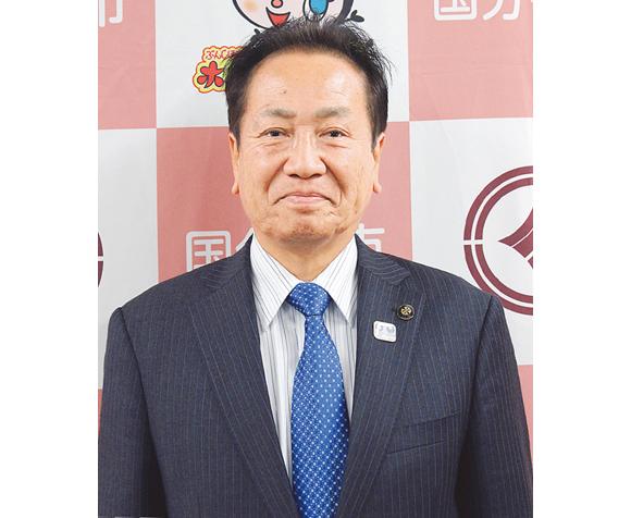 国分寺市長 井澤邦夫さん