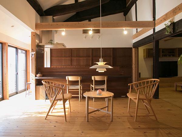 築200年の古民家のよさを生かした暮らしやすい空間【Re Re ルポ リリルポ】