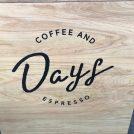 Newショップ続々オープンの伊集院へ!その先駆け的なお店「DAYS COFFEE」
