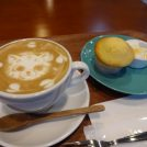 ラテアート必見!カフェ&美容室の芦屋「a/ju」でほっこり♪