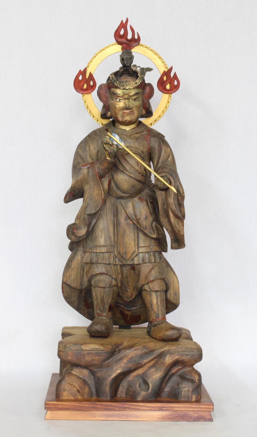 辰神像(文化財展より)