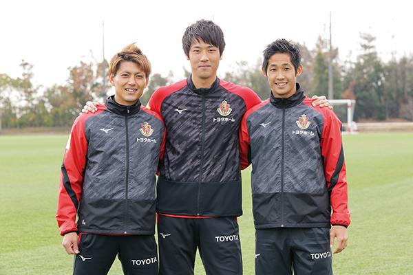 今季J1復帰!名古屋グランパスの選手に聞いた目標&サッカー観戦の楽しみ方。スタジアムグルメも