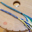 「君の名は。」で大注目!大島紬の絣糸(かすりいと)で組紐ストラップ作りを体験@鹿児島市「奄美の里」