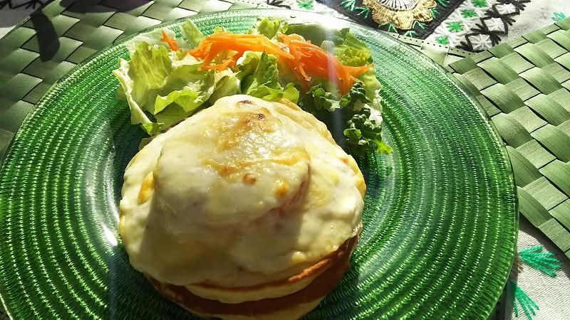 月1回カフェオープン『フラワーバスケット』で人気店のパンケーキを@田無