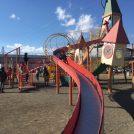 無料! すべり台7本の大型遊具 海老名運動公園
