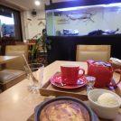 神戸「キッチンカフェ ペスカ」の焼き立てほわっほわチーズケーキ