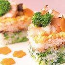 【動画付レシピ】菜の花とえびの雛寿司