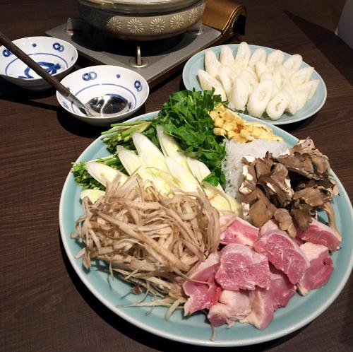 「秋田料理 きりたんぽ」のきりたんぽ鍋