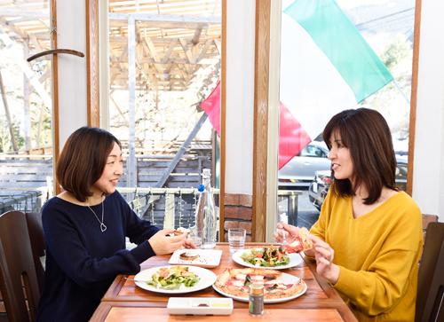 薪釜屋 YOSHIZO cafe 御岳店