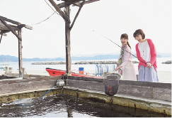 鳴門鯛が釣れるかも!? 釣り堀体験
