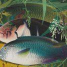 ②田中一村「熱帯魚三種」昭和48年(1973)岡田美術館蔵 c 2018 Hiroshi Niiyama