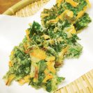 『セロリの葉とさきいかのかき揚げ』カンタン時短レシピでおかずを1品プラス