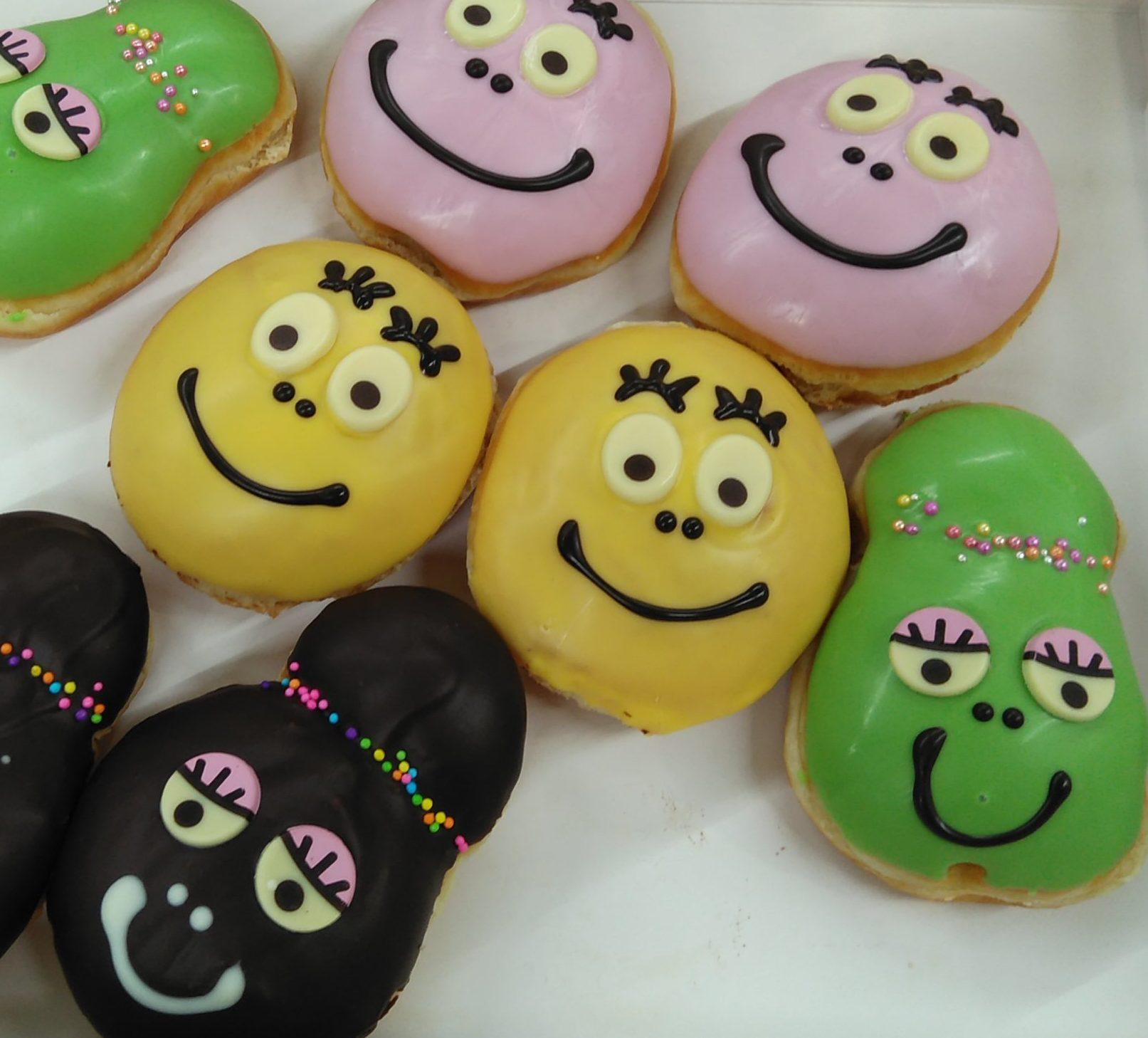 カラフルでかわいい♡バーバパパコラボのクリスピー・クリーム・ドーナツ♪