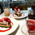 桜スイーツ見つけた!ラ・メゾン「あまおうと桜ミルクのタルト」@立川