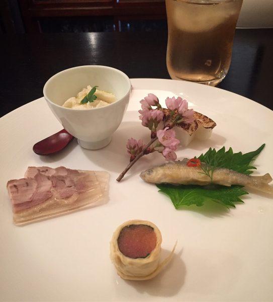 京都 天ぷら割烹で大人ランチ