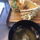 天ぷらは熱々を食べるのがごちそう