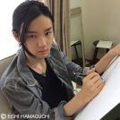 海老名市立中央図書館で「少年画家 濱口瑛士の世界」開催