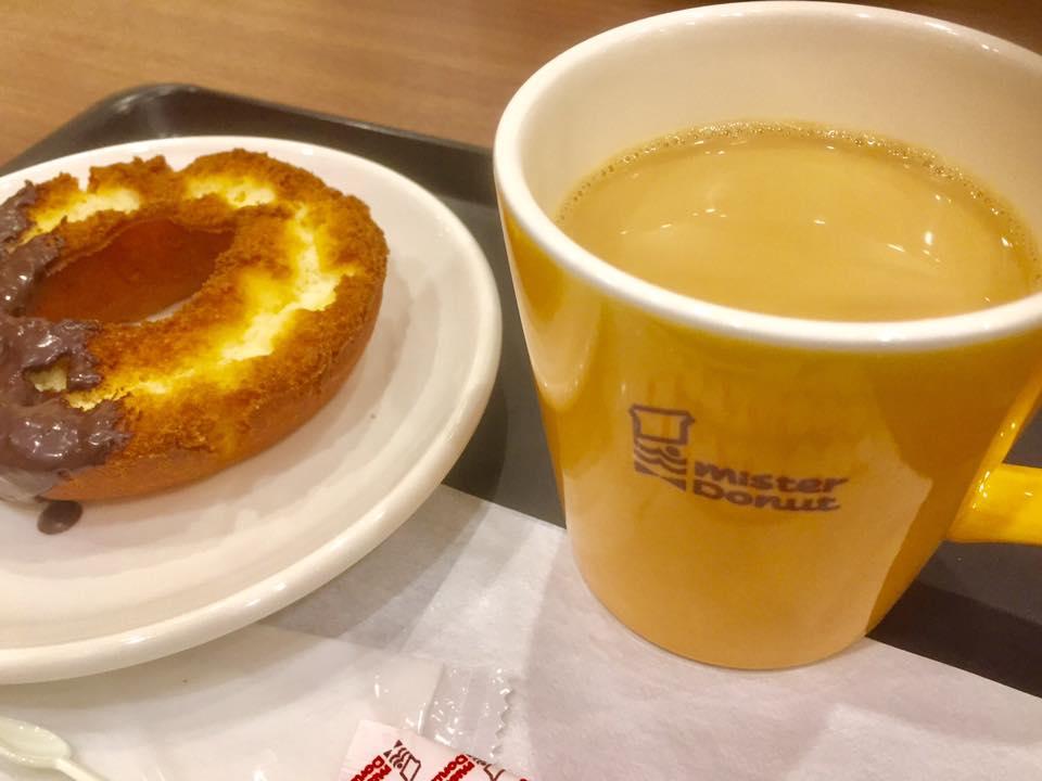 「ミスタードーナツ」は定番ドーナツが毎日セール価格に!カフェオレもおかわり自由♪
