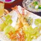 3000円以上のコース注文で、 お土産に特製天むす2個プレゼント「天ぷら やました」