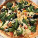 畑から直結!新鮮野菜もりもり!『農家のピザ【ミノールマルシェ】』@小平