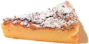 ロックフォールチーズケーキ