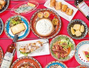 ブルガリア料理の数々