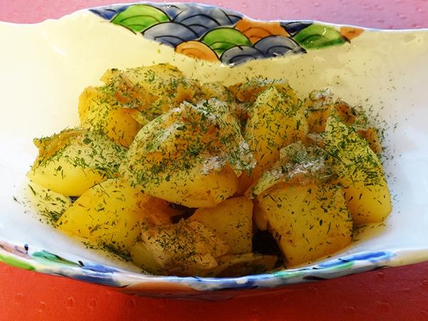じゃが芋と長葱のおふくろ煮